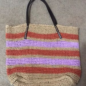 Handbags - Boho Wicker Woven Shoulder Bag